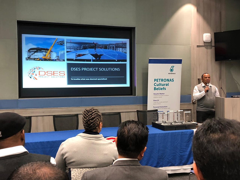 DSES was one of seven companies in the country that was selected to do a presentation at the Engen Contractor Forum held at Engen Head Office in Cape Town