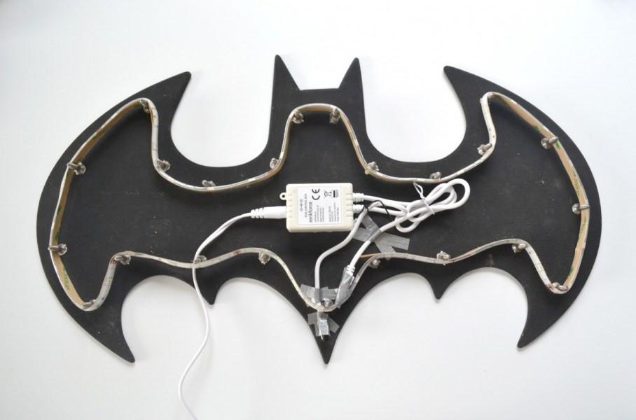 Batman-Lampe LED-Schlauch mit Trafo und Sensor