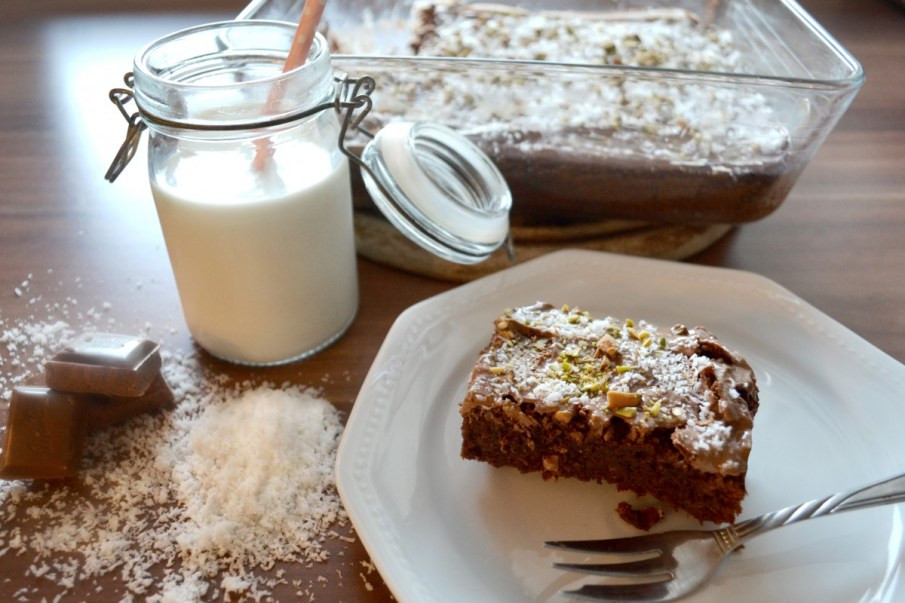 Schoko-Kokos-Brownie Titelbild