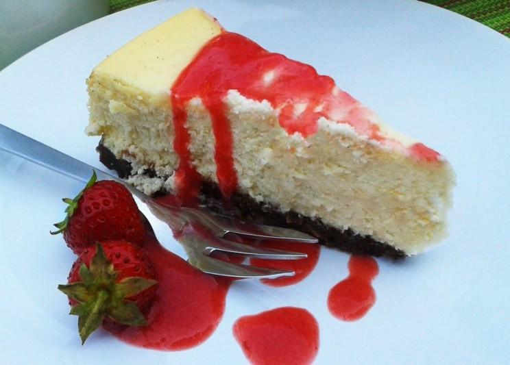 Cheesecake_Kuchenstück