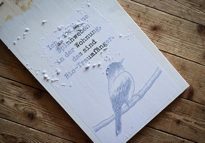 Fotodruck auf Holz - Selbstgemacht Kreat