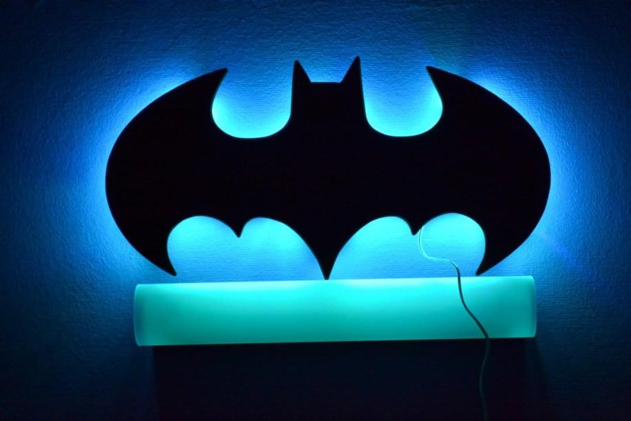 Batman-Lampe Zwischentest