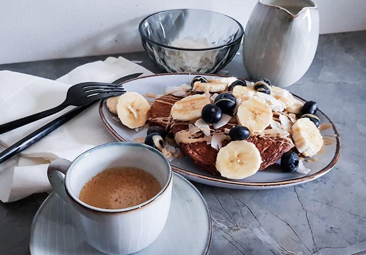 Gesunde Schoko-Pancakes - Selbstgemacht