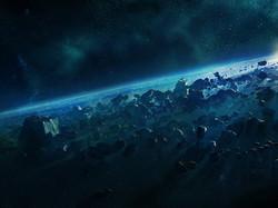 space-dark-rocks-light-sun-mysterious-12