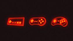 neon gamepad