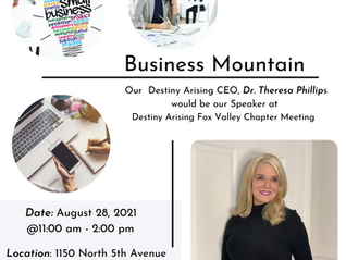 """Chapter Meeting """" Business Mountain """" Dr Theresa Phillips"""