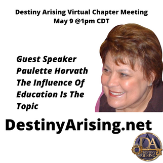 Virtual Chapter Meeting May 9 @ 1 PM CDT