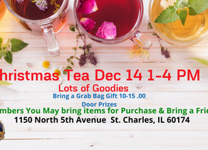 Invitation to Christmas Tea St Charles IL Dec 14