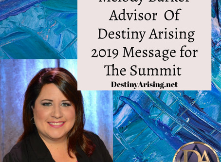 Melody Barker Message From 2019 Summit