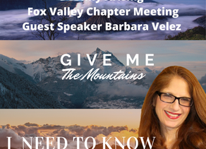 Fox Valley Chapter Meeting Feb 1