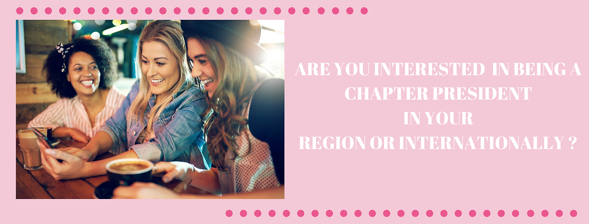 ARE YOU INTERESTED IN BEING A CHAPTER PR