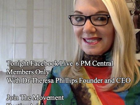 Tonight Facebook Live Broadcast