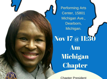 Michigan Chapter Launch 17 November Can we see you there? Come on OVER!