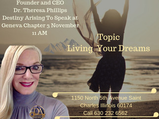 """Living The Dream"" CEO Dr Theresa Phillips"