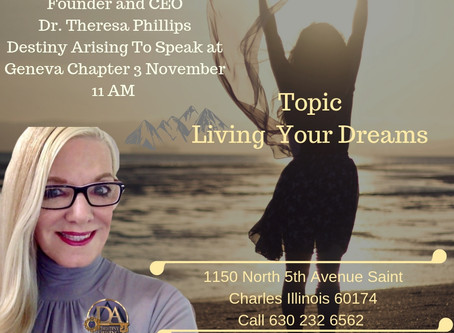 """""""Living The Dream"""" CEO Dr Theresa Phillips"""