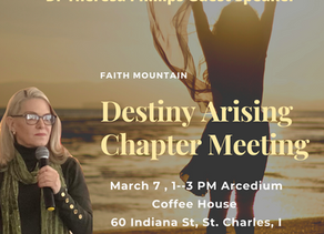 Local Chapter Meeting March 7  Why is the faith Mountain So Important?