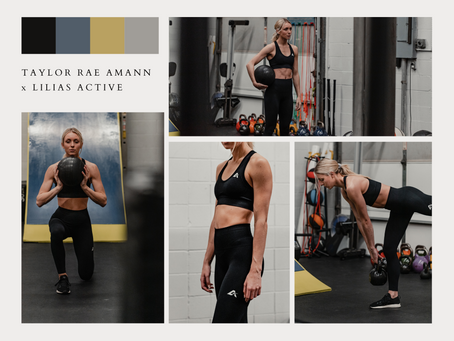 Taylor Rae Amann x Lilias Active