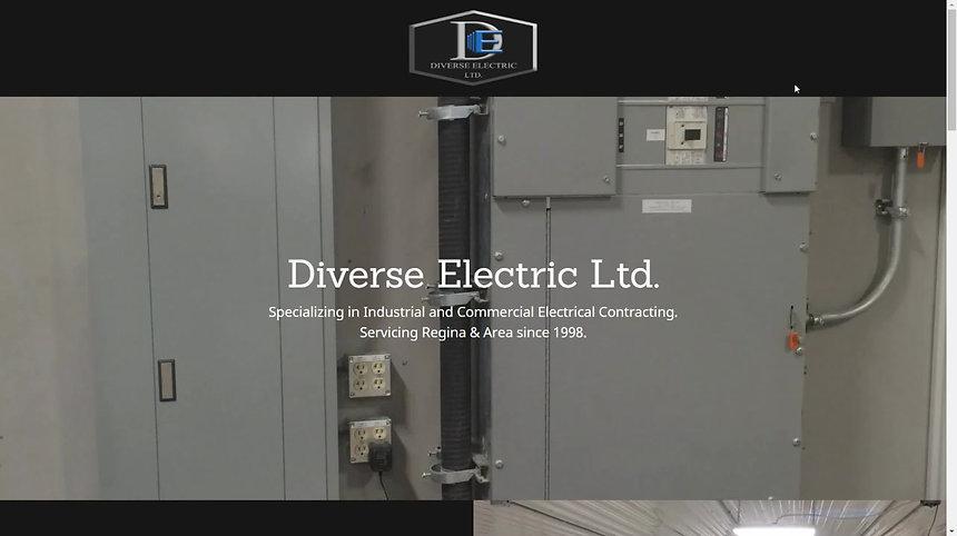 Diverse Electric Ltd.'s New Website