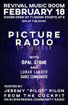 Picture Radio EP Release Poster Mock-up 2
