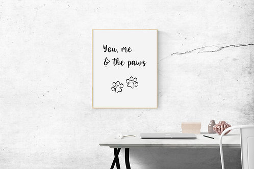 You, Me and the Paws - Cat