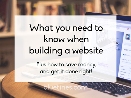 What to consider when you need a website for your business