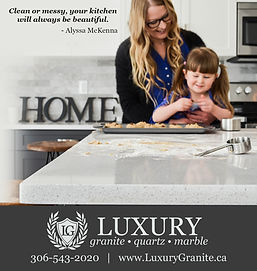 Luxury GranitHome improvement ad by Emily Gust