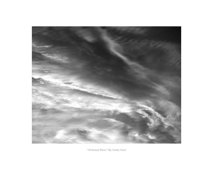 Softened Skies (BW)