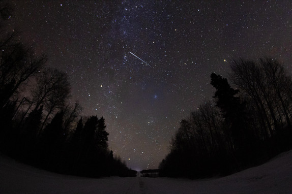 Road to the Geminids