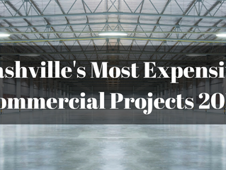 Ranking Nashville's Commercial Real Estate Of 2015