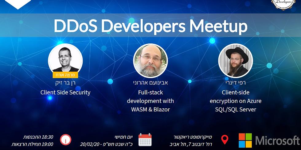 DDoS Developers Meetup #4
