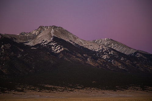 mountains, Rocky Mountains, sunset, landscape