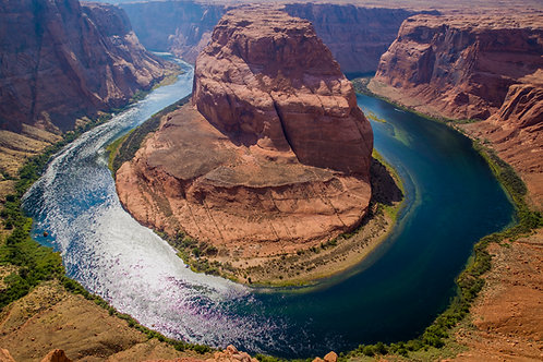 horseshoe bend, Arizona, landscape, canyon, river