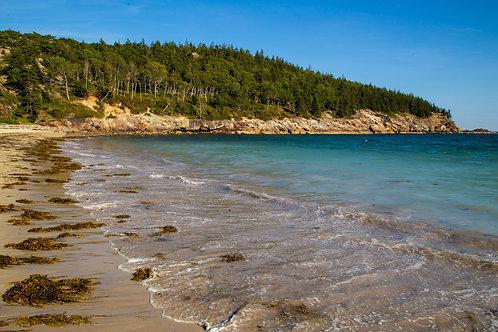 sand beach, acadia, maine, Acadia national park, seascape, ocean, Atlantic