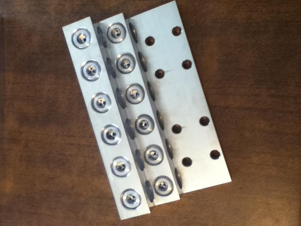 Zapata P/ 12 Cables 8 Ojillos