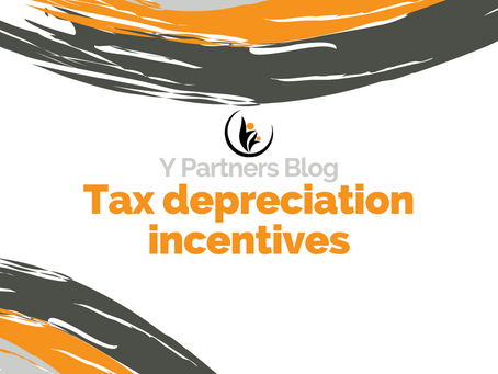 Tax depreciation incentives to help businesses recover