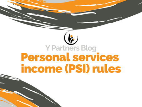 Do you operate your business through a company or trust? Be aware of the PSI rules