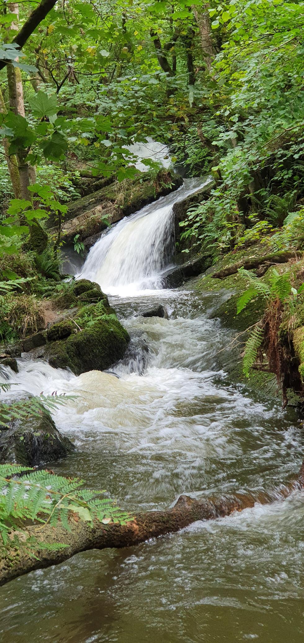 Waterfall Nanternis valley