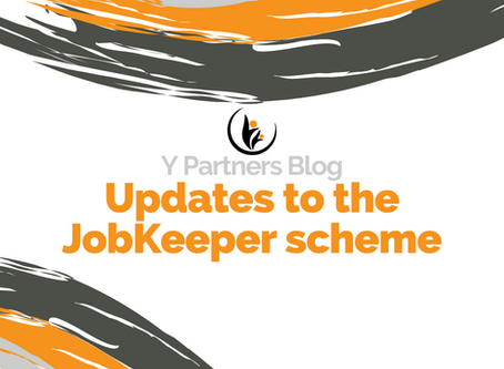 Updates to the JobKeeper Scheme