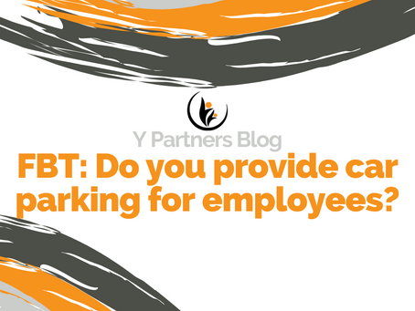 FBT: Do you provide car parking for employees?