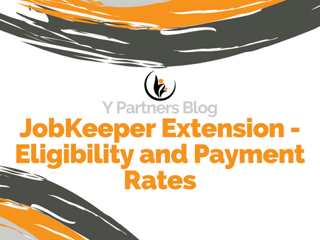 JobKeeper Extension - Eligibility and Payment Rates