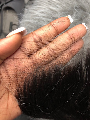 TRANSPARENT LACE FRONTAL - 13x4 STRAIGHT