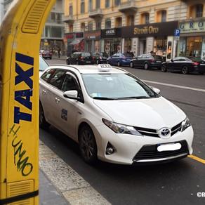 ミラノのタクシー情報🚖