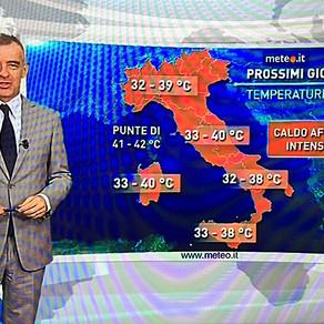夏本番~8月前半のイタリアは猛暑!