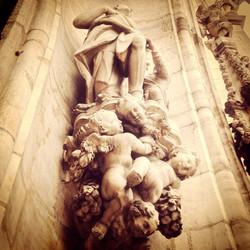 Milano Duomo gli angeli