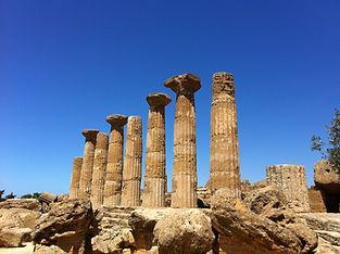 シチリア アグリジェント 神殿の谷