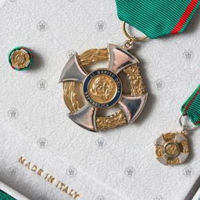 イタリアの騎士たちへ贈られた勲章
