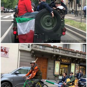 ミラノでアルピーニが大集結!
