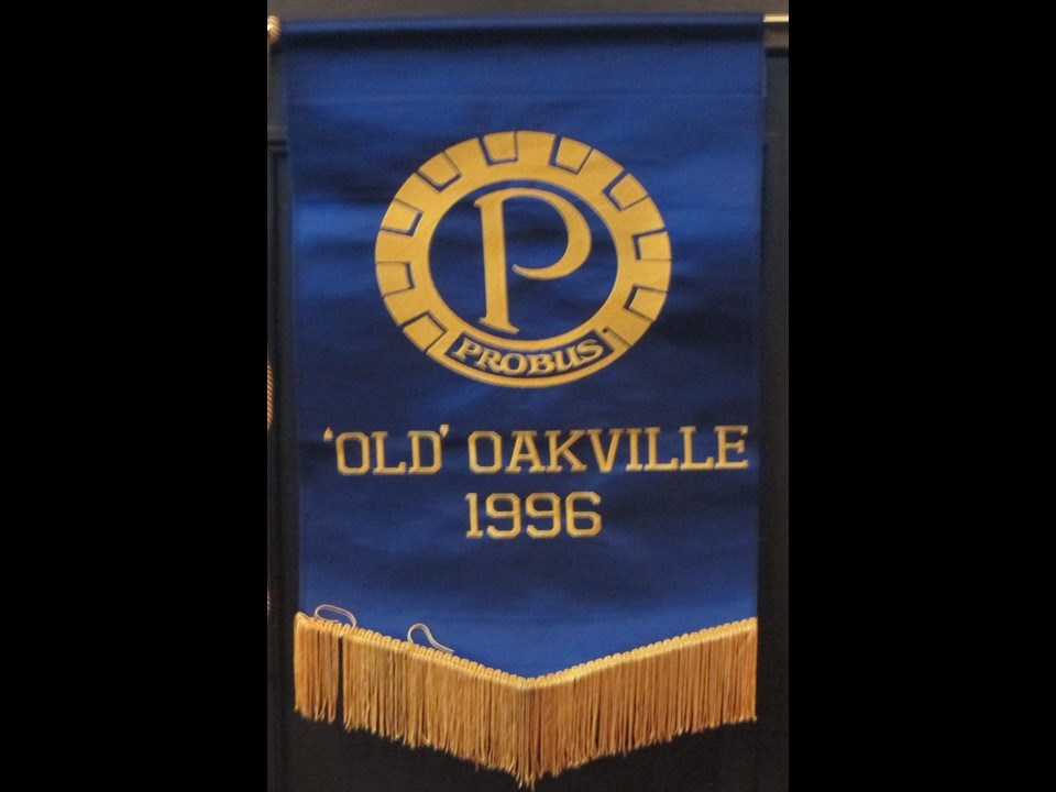 Probus Old Oakville Banner 1996