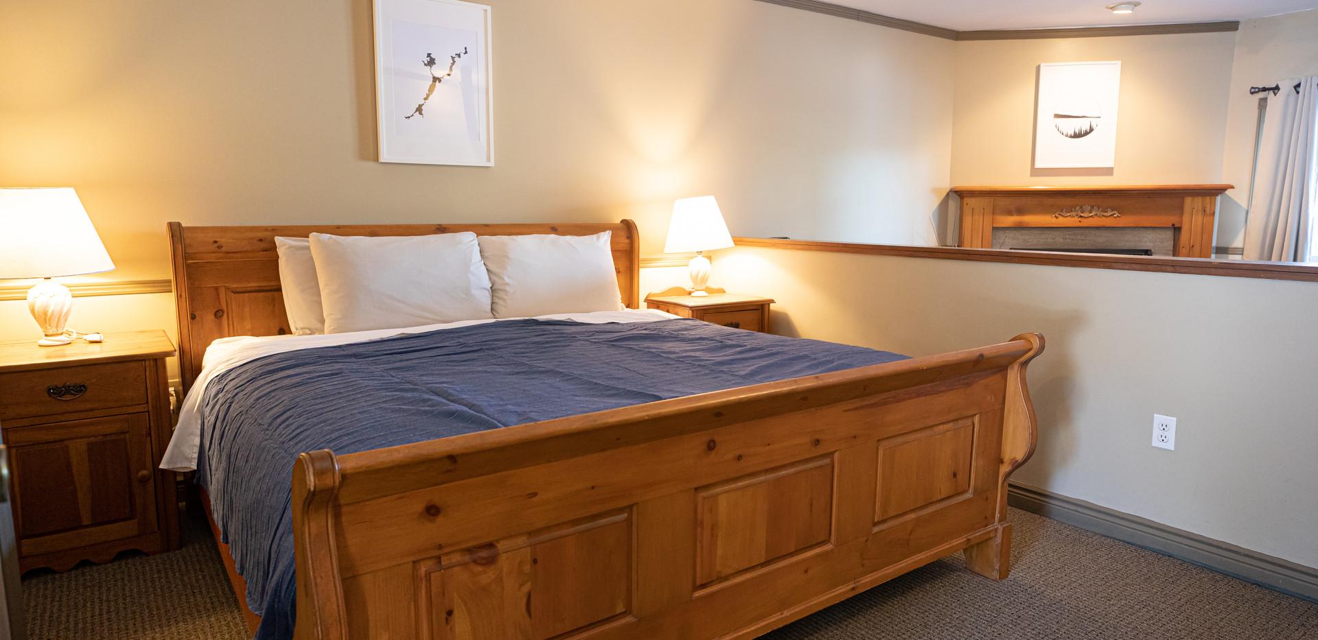 King Suite at the Bonnie View Inn