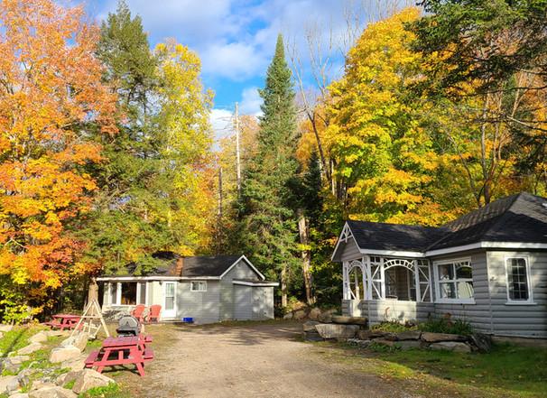 Fall at the Bonnie View Inn